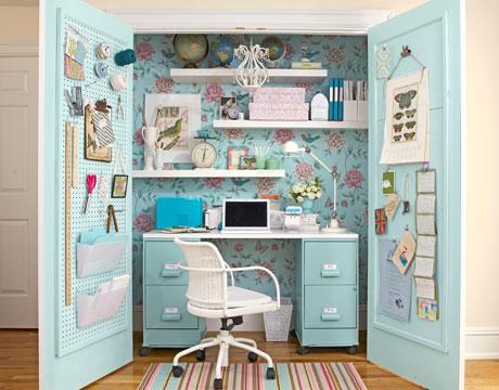 closet desk plans