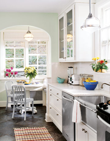 Breakfast nook ideas for Galley kitchen with breakfast nook