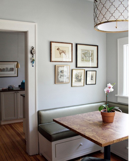 Corner Breakfast Nooks for Small Kitchens