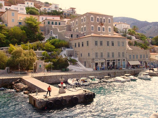 Vicarious Vacations #3: Hydra town, Greece