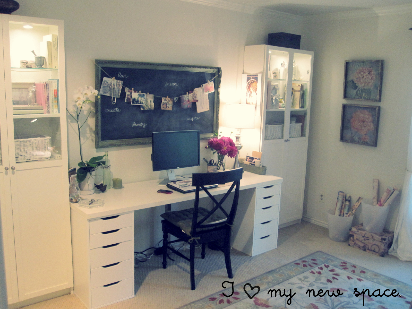Home office makeover Small office makeover ideas
