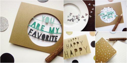 paper cut stationery handmade greeting cards
