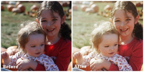 pumpkin before after