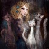 Catlady, 2015 Digital Art