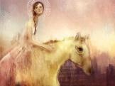 Golden Horse, 2015 Digital Art