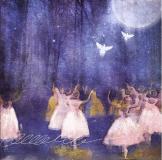 Moonlight Ballet, 2015 Digital art