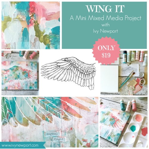 Wing It promo square with text
