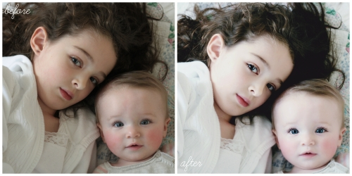 sisters before and after